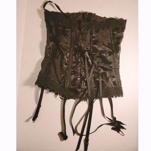 Shirley of Hollywood Black Corset Size 34